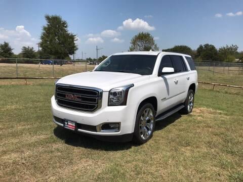 2017 GMC Yukon for sale at LA PULGA DE AUTOS in Dallas TX