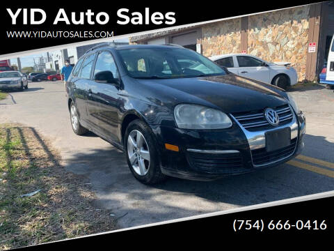 2009 Volkswagen Jetta for sale at YID Auto Sales in Hollywood FL