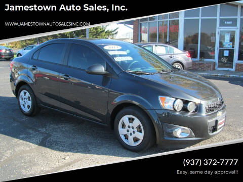 2014 Chevrolet Sonic for sale at Jamestown Auto Sales, Inc. in Xenia OH
