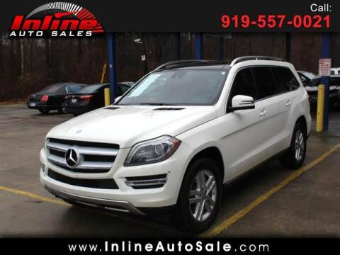 2013 Mercedes-Benz GL-Class for sale at Inline Auto Sales in Fuquay Varina NC