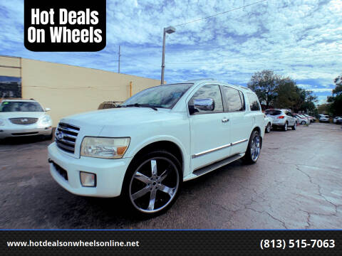 2004 Infiniti QX56 for sale at Hot Deals On Wheels in Tampa FL