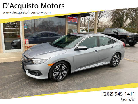 2017 Honda Civic for sale at D'Acquisto Motors in Racine WI