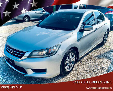 2014 Honda Accord for sale at R-D AUTO IMPORTS, Inc in Charlotte NC