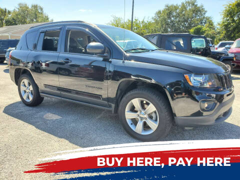 2015 Jeep Compass for sale at Rodgers Enterprises in North Charleston SC
