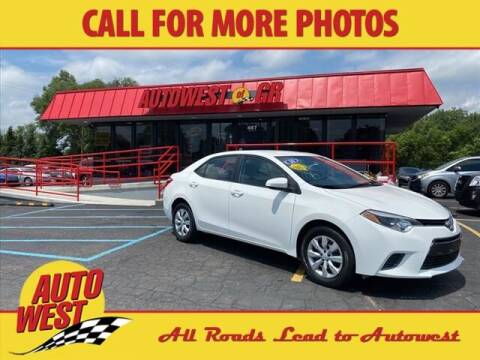 2016 Toyota Corolla for sale at Autowest of GR in Grand Rapids MI