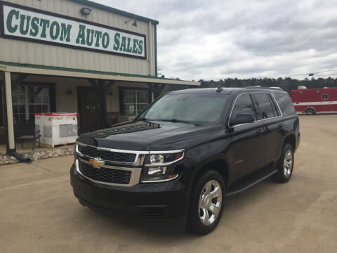 2018 Chevrolet Tahoe for sale at Custom Auto Sales - AUTOS in Longview TX