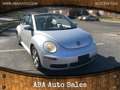 2006 Volkswagen New Beetle Convertible for sale at ABA Auto Sales in Bloomington IN