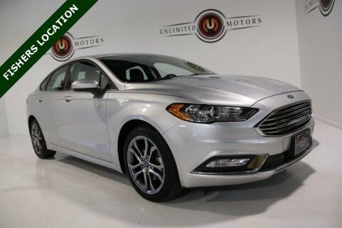 2017 Ford Fusion for sale at Unlimited Motors in Fishers IN