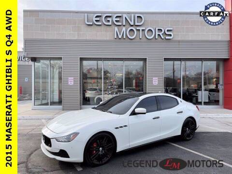 2015 Maserati Ghibli for sale at Legend Motors of Waterford in Waterford MI