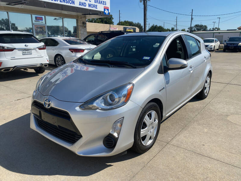 2015 Toyota Prius c for sale at Houston Auto Gallery in Katy TX