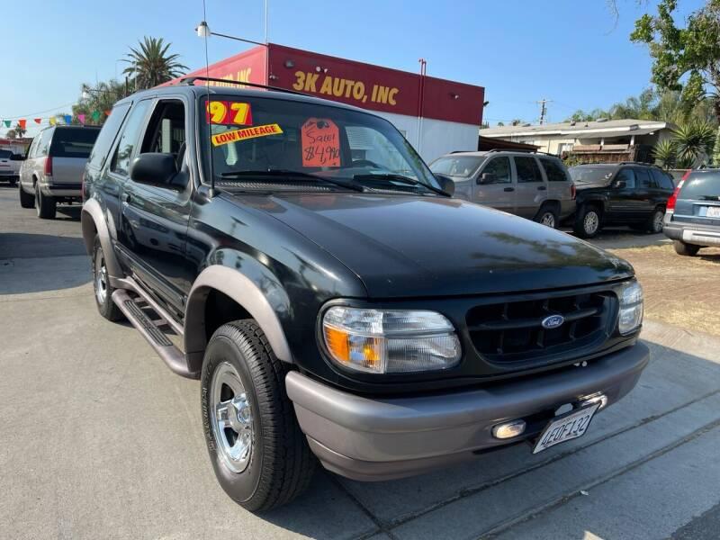 1997 Ford Explorer for sale at 3K Auto in Escondido CA