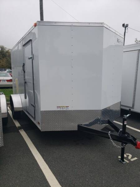 2021 7x12 Standard Enclosed Trailer for sale at Big Daddy's Trailer Sales in Winston Salem NC