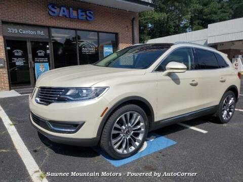 2016 Lincoln MKX for sale at Michael D Stout in Cumming GA