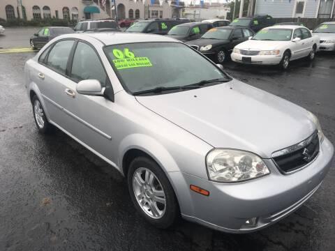 2006 Suzuki Forenza for sale at American Dream Motors in Everett WA