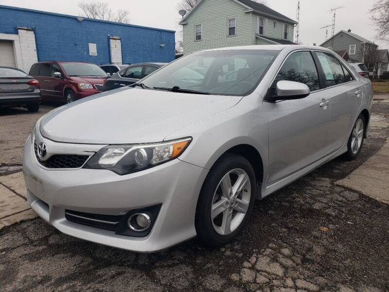 2014 Toyota Camry for sale at M & C Auto Sales in Toledo OH