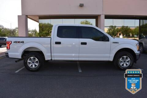 2018 Ford F-150 for sale at GOLDIES MOTORS in Phoenix AZ