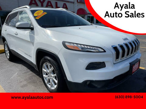 2014 Jeep Cherokee for sale at Ayala Auto Sales in Aurora IL
