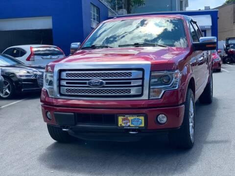 2014 Ford F-150 for sale at AGM AUTO SALES in Malden MA