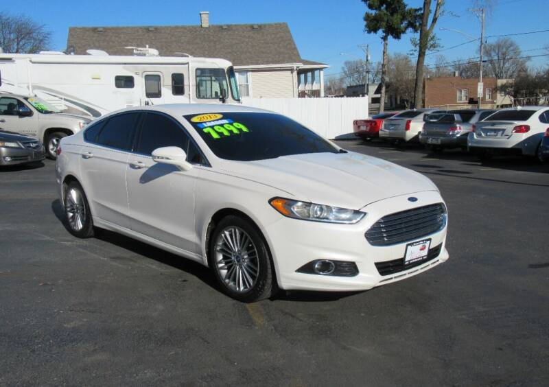 2013 Ford Fusion for sale at Auto Land Inc in Crest Hill IL