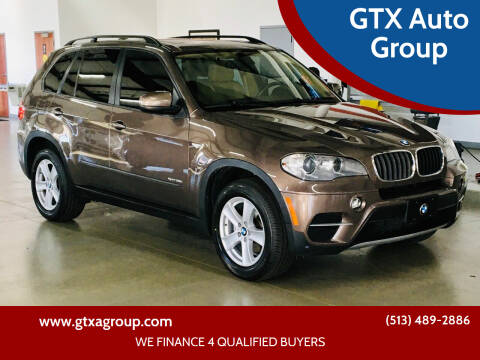 2012 BMW X5 for sale at GTX Auto Group in West Chester OH