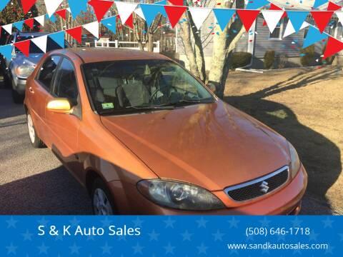2007 Suzuki Reno for sale at S & K Auto Sales in Westport MA