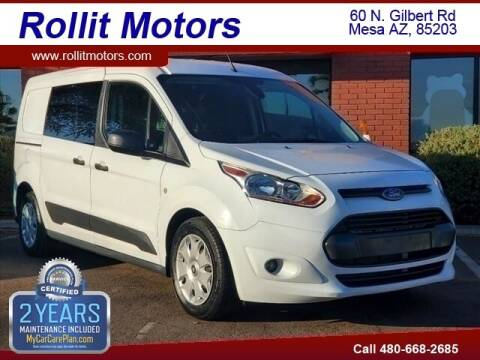 2017 Ford Transit Connect Cargo for sale at Rollit Motors in Mesa AZ