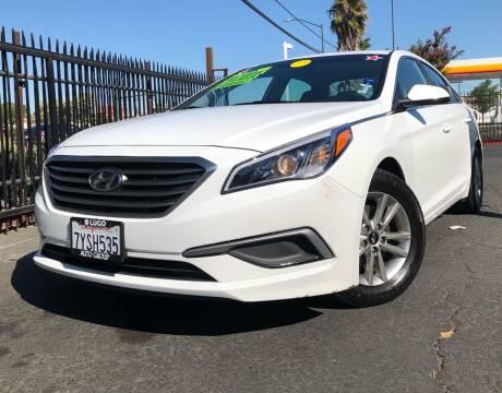 2017 Hyundai Sonata for sale at LUGO AUTO GROUP in Sacramento CA