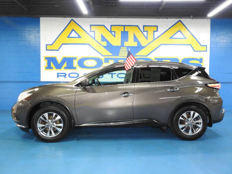 2016 Nissan Murano for sale at ANNA MOTORS, INC. in Detroit MI