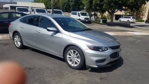 2018 Chevrolet Malibu for sale at In-House Auto Finance in Hawthorne CA