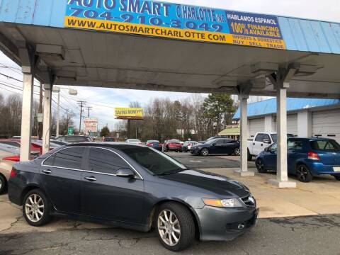 2006 Acura TSX for sale at Auto Smart Charlotte in Charlotte NC