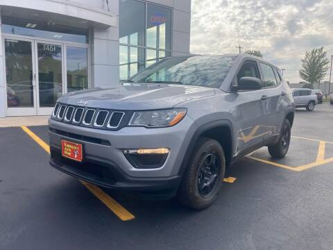2018 Jeep Compass for sale at RABIDEAU'S AUTO MART in Green Bay WI