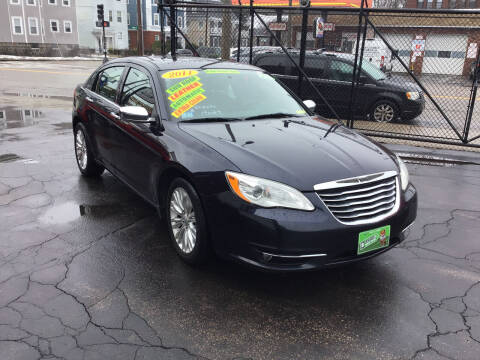 2011 Chrysler 200 for sale at Adams Street Motor Company LLC in Dorchester MA