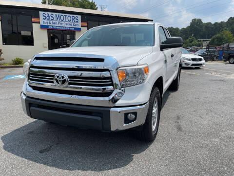 2016 Toyota Tundra for sale at S & S Motors in Marietta GA