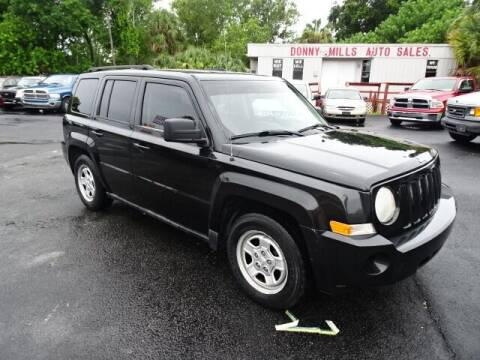 2010 Jeep Patriot for sale at DONNY MILLS AUTO SALES in Largo FL