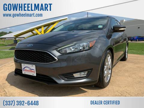 2015 Ford Focus for sale at GOWHEELMART in Leesville LA