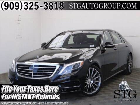 2016 Mercedes-Benz S-Class for sale at STG Auto Group in Montclair CA