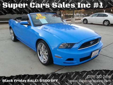 2013 Ford Mustang for sale at Super Cars Sales Inc #1 in Oakdale CA