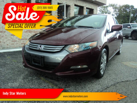 2011 Honda Insight for sale at Indy Star Motors in Indianapolis IN