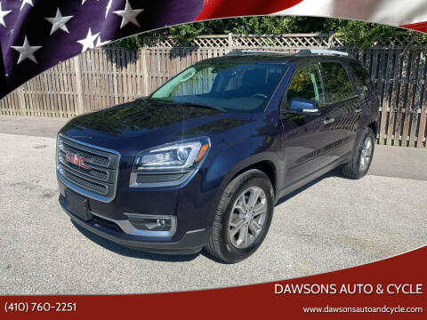 2015 GMC Acadia for sale at Dawsons Auto & Cycle in Glen Burnie MD