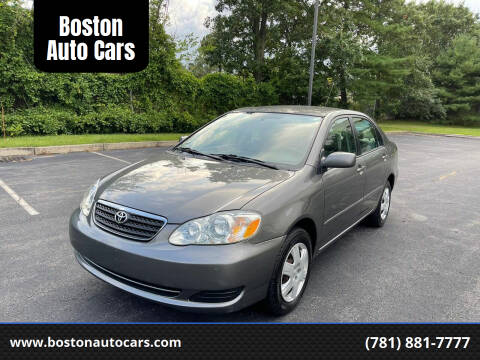 2005 Toyota Corolla for sale at Boston Auto Cars in Dedham MA