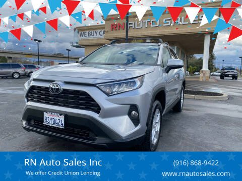 2021 Toyota RAV4 for sale at RN Auto Sales Inc in Sacramento CA