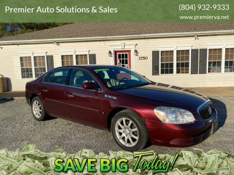 2007 Buick Lucerne for sale at Premier Auto Solutions & Sales in Quinton VA