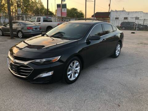 2019 Chevrolet Malibu for sale at Saipan Auto Sales in Houston TX