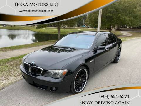 2007 BMW 7 Series for sale at Terra Motors LLC in Jacksonville FL