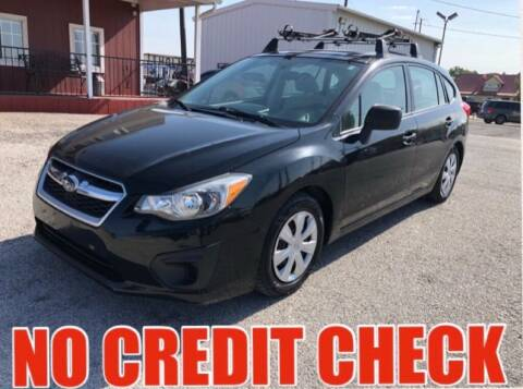 2012 Subaru Impreza for sale at Decatur 107 S Hwy 287 in Decatur TX