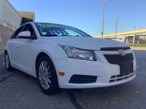 2013 Chevrolet Cruze for sale at Active Auto Sales Inc in Philadelphia PA