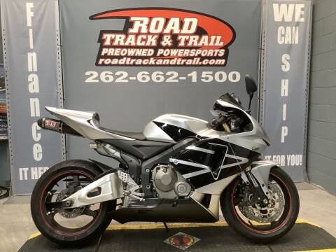 2006 Honda CBR600RR for sale at Road Track and Trail in Big Bend WI