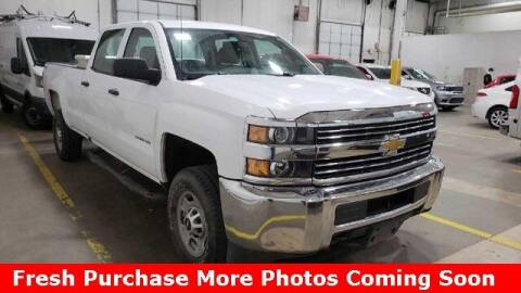 2016 Chevrolet Silverado 2500HD for sale at Nyhus Family Sales in Perham MN