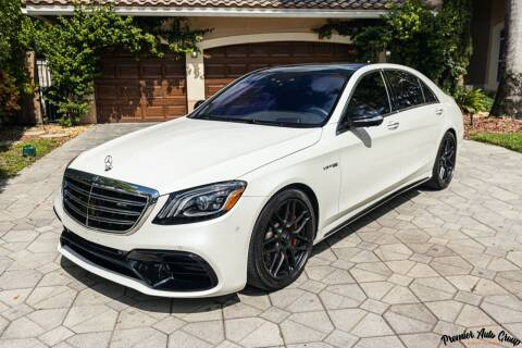 2018 Mercedes-Benz S-Class for sale at Premier Auto Group of South Florida in Wellington FL