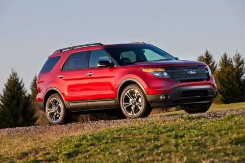 2013 Ford Explorer for sale at Econo Auto Sales Inc in Raleigh NC